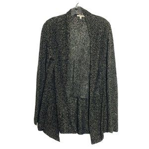 Eileen Fisher Open Front Knit 100% Linen  Cardigan
